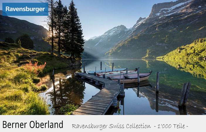 Puzzle Ravensburger Swiss Collection Berner Oberland