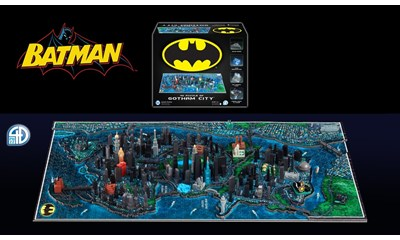 4D Batman Gotham City