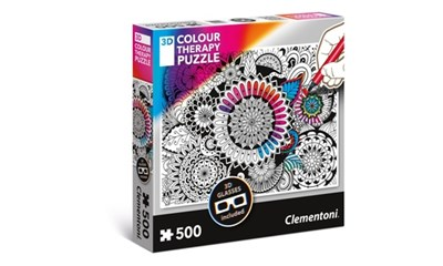 Colour Therapy Mandala 3D inkl. 3D Brille