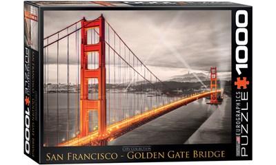 Eurographics Puzzle San Francisco Golden Gate Bridge Mit