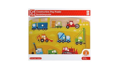 Construction Peg Puzzle