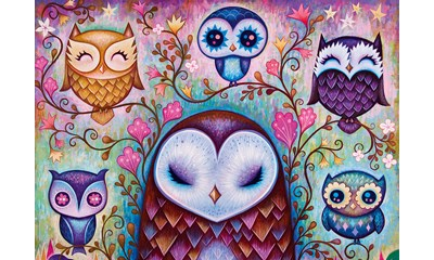 Great Big Owl Standart