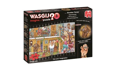 Wasgij Puzzle Imagine 3: Übernachtungsparty!