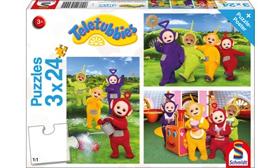 Teletubbies, Im Teletubby-Land