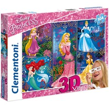 3D Princess mit 3D Brille