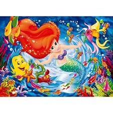 Little Mermaid im tiefen Meer