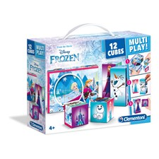 Würfel Puzzle Multiplay Frozen