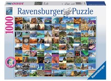 Puzzle 99 Beautiful Places on Earth