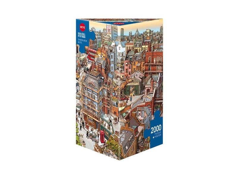heye puzzle sherlock co anz teile 2000 puzzle. Black Bedroom Furniture Sets. Home Design Ideas