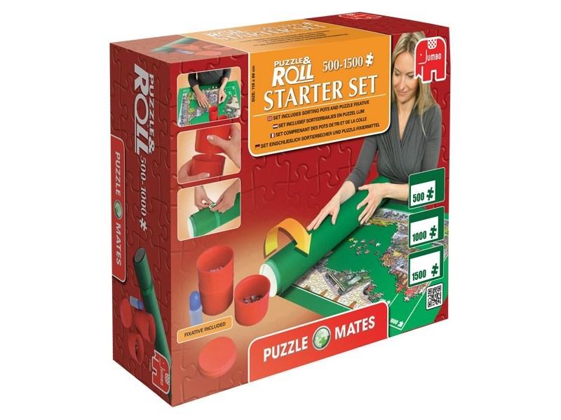jumbo puzzle matte starter set puzzle. Black Bedroom Furniture Sets. Home Design Ideas