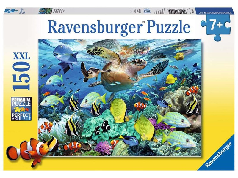 ravensburger puzzle unterwasserparadies anz teile 150 puzzle. Black Bedroom Furniture Sets. Home Design Ideas
