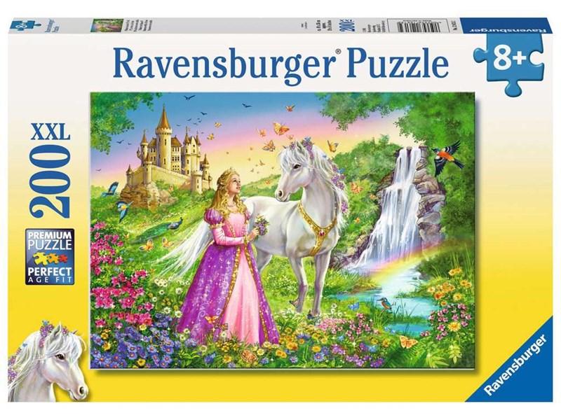 ravensburger puzzle prinzessin mit pferd anz teile 200