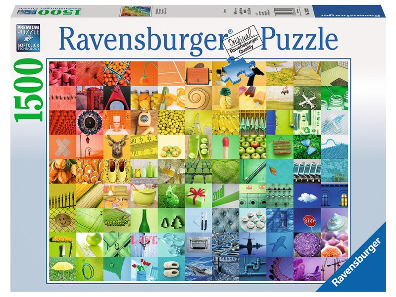 ravensburger puzzle 99 beautiful colors anz teile 1500. Black Bedroom Furniture Sets. Home Design Ideas